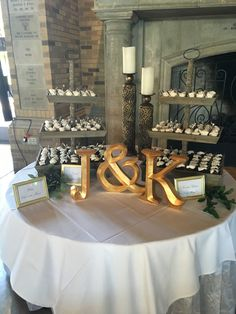 8.13.2016 | Jeff and Kalee Johnston Wedding | Groom's Desserts by Pie Bar | McKenzie Merket Alumni Center | Event Planning by Top Tier