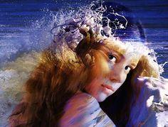 In ancient Greek mythology, Amphitrite (Ἀμφιτρίτη) was a sea-goddess and wife of Poseidon.   Nella mitologia greca, Anfitrite, sposa di Poseidone e madre di Tritone, era una dea del mare.   Dans la mythologie grecque, Amphitrite est une Néréide, femme de Poséidon.   En la mitología griega, Anfítrite era una antigua diosa del mar.