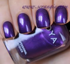 Scrangie: Zoya Diva Collection Fall 2012 Swatches and Review Suri