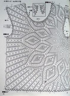 Crochetemoda: Blusa de Crochet                                                                                                                                                     Más