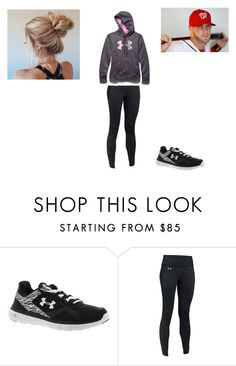 """Under Armour Shoot With Bryce Harper"" by kaylaleann22 on Polyvore featuring Under Armour"