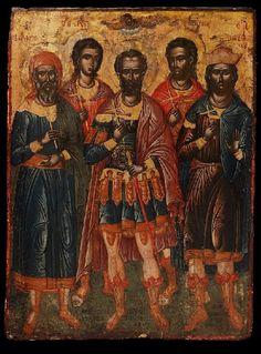 Σκορδίλης Εμμανουήλ-The five Saints of Sebasteia, 1650-70