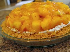 Fresh Peach and Cream Cheese Pie!  Made it....It Rocks!!  My hubby declared it is the best pie he has ever had!  ( I used a regular crust...but it was yum!)