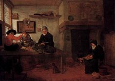 Quiringh van Brekelenkam - Interior of a Tailor's Shop - WGA03175 - Realism (arts)