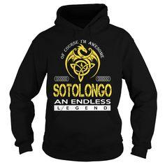 SOTOLONGO An Endless Legend (Dragon) - Last Name, Surname T-Shirt