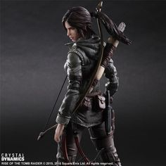Rise of the Tomb Raider Play Arts Kai figure. Read more here - http://archaeologyoftombraider.com/2015/12/16/rise-of-the-tomb-raider-play-arts-kai-action-figure-available-for-pre-order/