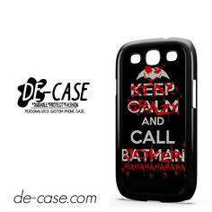 Stay Crazy & Call Joker DEAL-10122 Samsung Phonecase Cover For Samsung Galaxy S3 / S3 Mini
