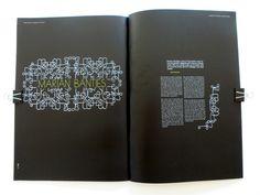 Typo Magazine 01 by Sissel Pettersen, via Behance