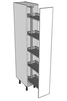 A Tall Pull Out Larder Storage Unit. Http://www.diy