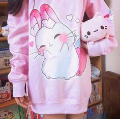 kawaii fashion yume bunny sweater - Source by kawaii Vêtements Goth Pastel, Estilo Goth Pastel, Style Pastel, Pastel Goth Fashion, Kawaii Fashion, Lolita Fashion, Cute Fashion, Pastel Goth Clothes, Pastell Fashion