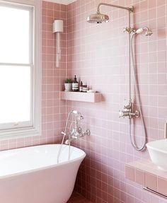Bathroom goals ✨ #nudieblush