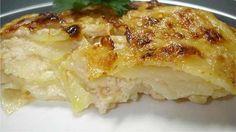 Batatas Laminadas Com Queijo Gruyère - Receitas e Dicas do Chef
