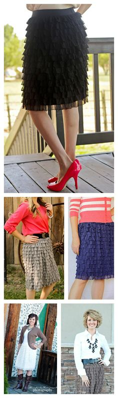 Beautiful Ruffle Skirt  $22.00