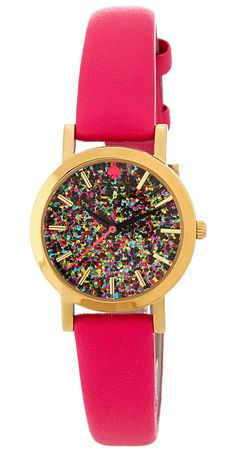 Glitter confetti watch | Kate Spade