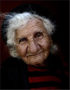 Creative Writing Exericse.  Start your free-write with a sentence beginning:  This is a picture of the woman who asked me the most important question I ever heard.