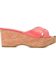 JIMMY CHOO 'Prima' wedge sandals