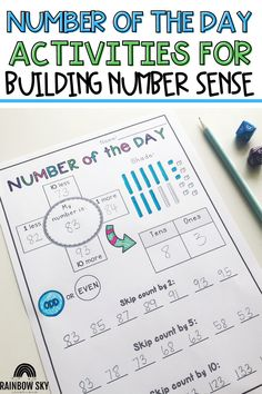 If you are looking for a fun and engaging way for your students to get daily practice with place value, you will love my Number of the Day Templates! These digital templates are perfect for distance learning and can be used with 2-digit, 3-digit, 4-digit, or 5-digit numbers. This resource can be used as an ideal assessment, lesson warmup, math rotation task or revision lesson. They also provide an effortless way to differentiate for your students. Student Learning, Teaching Math, Teaching Resources, Teaching Ideas, Primary Maths, Primary Classroom, Teaching Place Values, Number Sense Activities, Math Rotations