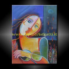 Dipinto olio su tela con volto di donna realizzato in stile contemporaneo astratto. Un quadro moderno particolare, altamente consigliato per arredare uno studio professionale e l'ambiente di lavoro. http://www.dipintiastratti.it/DIPINTI-ASTRATTI-E-MODERNI/999-QUADRO-CON-VOLTO-DONNA-ASTRATTO.html