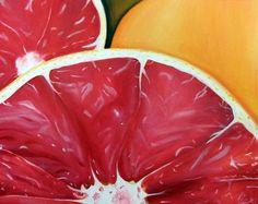Macro food painting