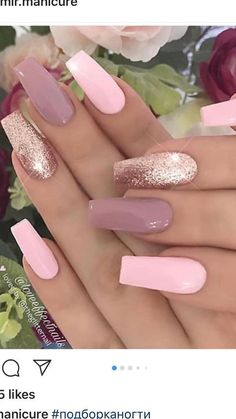 Karamell-Käsekuchen-Dip – Nageldesign – – Beauty Nails - Nagel Caramel Cheesecake Dip Nail Design # Caramel Cheesecake Dip # Nail Design Beauty Nails Stylish Nails, Trendy Nails, Cute Nails, Best Acrylic Nails, Acrylic Nail Designs, Acrylic Nails With Glitter, Pink Nail Designs, Rose Gold Nails, Gold Coffin Nails