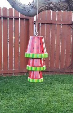 Creating Artistic Wind Chimes with Clay Pots - Home & Garden: Inspiring Interior, Outdoor and DIY Ideas