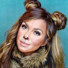 Teddy Bear Makeup - SO CUTE
