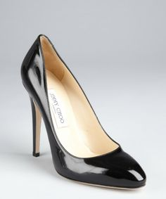 JIMMY CHOO Black Victoria