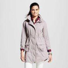 Women's Anorak Jacket - Zinc (Grey) - Xxl - Mossimo Supply Co.