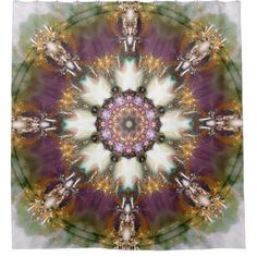 Mandalas from the Heart of Change 1 Shower Curtain - love gifts cyo personalize diy