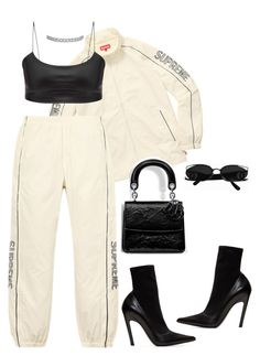 """Untitled #4432"" by mollface ❤ liked on Polyvore featuring Balenciaga, ESPRIT and Kenneth Jay Lane"