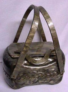 Tri-State Antique Center's Lucite Bag