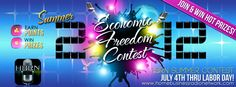 @homebusradio is giving away $25,000 in Prizes! Join the Home Business Radio Network Economic Freedom Contest http://homebusinessradionetwork.com/contest