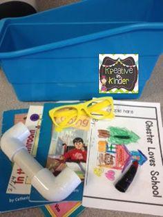 Read to Self bins for students. Great props to encourage reading independently!