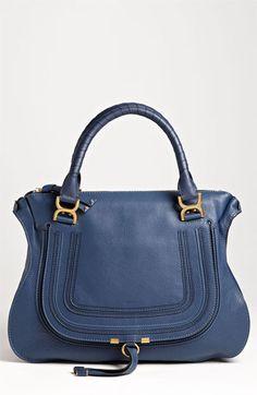 Chloé 'Marcie Large' Leather Shoulder Bag
