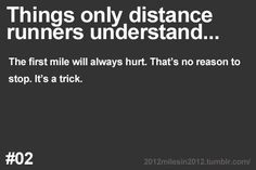 Things only runners understand… The pain is only in your brain. More: Things…
