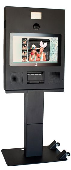 HootBooth Webcam Print+Social Booth Kiosk - Includes FREE SHIPPING