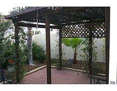 Nice backyard at 1207 Santa Cruz Dr, The Villages, FL 32162.  Listed at $179,000.