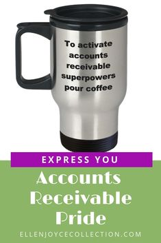 Travel Mug Graduation Gift, Beach Travel Accessories Accounts Receivable Coworker Gift Personalized Office Gifts, Personalized Mugs, Mother Birthday Gifts, Birthday Gifts For Husband, Gifts For Coworkers, Gifts For Mom, Coffee Express, Job Memes, Design Your Own Mug