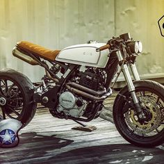 Customised Honda Cafe Racer