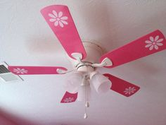 Diy ceiling fan girls room i can see this in my granddaughters diy ceiling fan girls room i can see this in my granddaughters room someday good ideas pinterest ceiling fan ceilings and fans mozeypictures Image collections