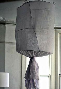 DIY: chandelier lamp.