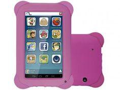 """Tablet Multilaser Kid Pad 8GB 7"""" Wi-Fi Android 4.4 - Proc. Quad Core Câmera Integrada link para ir para a loja:http://goo.gl/Nsj3hu"""