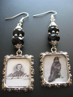 Raven Crow Charm Jewelry Raven Crow Mixed Media by jewelryrow, $14.00
