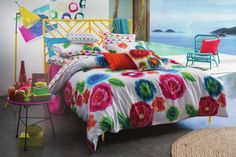 KAS Delphi Bedlinen and cushions