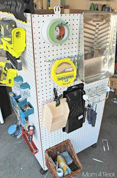 Portable Tool Caddy   The DIY Garage Clutter Buster Guide [Infographic]