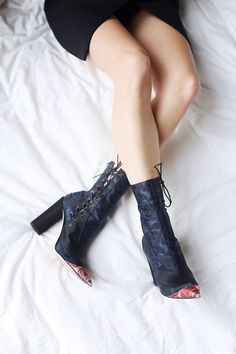 d5998c81ef9d Shoe of the Month  Dior Cruise Jacquard silk ankle boots