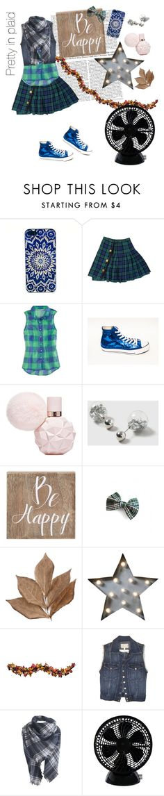 """""""Pretty in plaid"""" by dory-speaks-whale ❤ liked on Polyvore featuring American Eagle Outfitters, Dorothy Perkins, Belle Maison, Bliss Studio, Dot & Bo, Improvements, Current/Elliott and Keystone"""