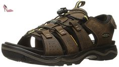 Keen, Chaussures montantes pour Homme - marron - Dark Earth/Black, -  Chaussures
