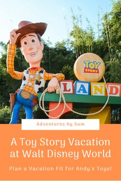 Vacation time is playtime! Read here for my guide to planning a Walt Disney World vacation that any Toy Story fan will love! Disney World Secrets, Disney World Parks, Walt Disney World Vacations, Disney World Tips And Tricks, Disney World Hollywood Studios, Disney Vacation Planning, Adventures By Disney, Disney Springs, Disney Food