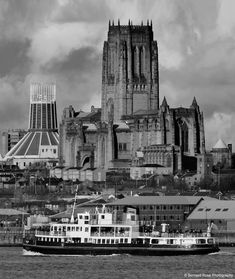 If you want a Cathedral we've got one to spare Liverpool Cathedral, Liverpool City Centre, Liverpool History, Liverpool Home, Liverpool Waterfront, Tanker Ship, Southport, Futuristic Architecture, Tower Bridge